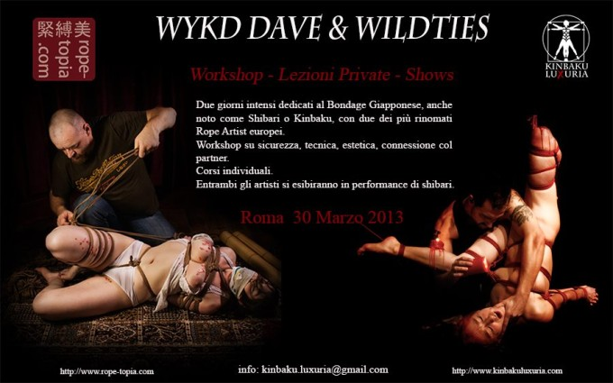 Wykd Dave & Wildties in Rome!!!