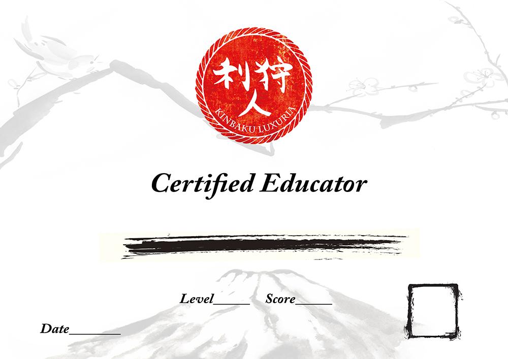 Kinbaku LuXuria Instructor Certification